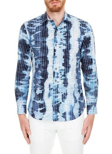 Armani Collezioni Gömlek Mavi